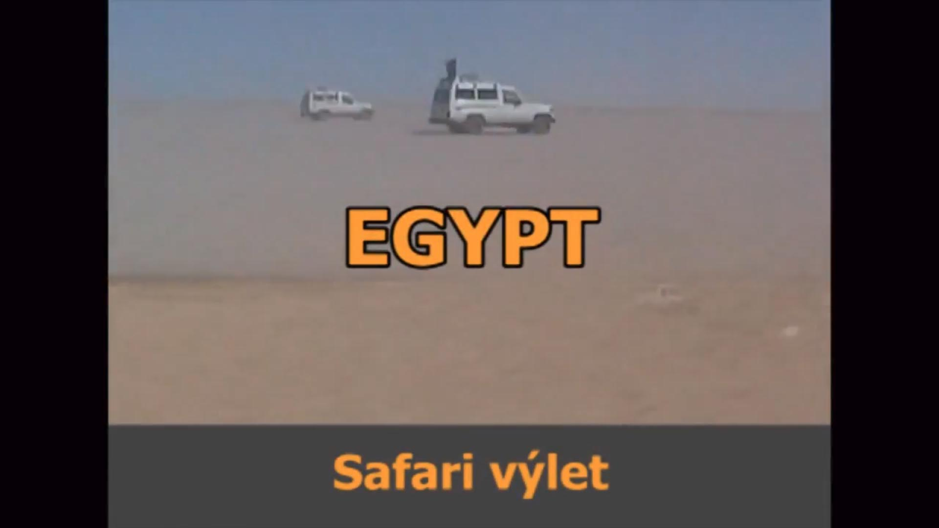 Egypt – Safari výlet
